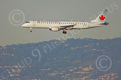 EMBR-190 00004 EMBRAER 190 Air Canada C-FNAJ by Peter J Mancus