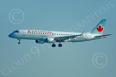 EMB-190 00078 EMBRAER EMB-190 Air Canada C-FMZW by Peter J Mancus
