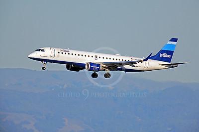 EMBRAER 190 00006 EMBRAER 190 Jet Blue N216JB by Peter J Mancus