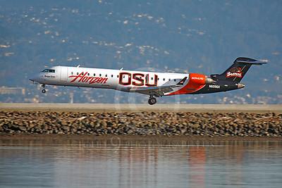 ERJ 145 00034 Embraer ERJ145 Horizon OSU Oregon State University N609QX by Peter J Mancus