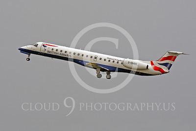 Embraer ERJ145 00022 Embraer ERJ145 British Airways G-EMBO by Peter J Mancus