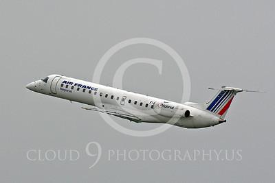 Embraer ERJ145 00020 Embraer ERJ145 Air France by Peter J Mancus