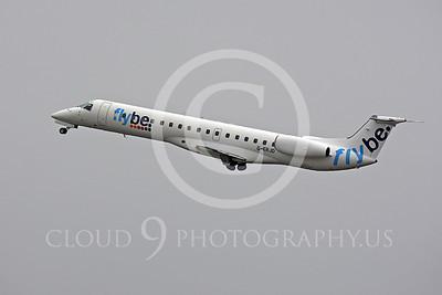 Embraer ERJ145 00030 Embraer ERJ145 FlyBe G-ERJD by Peter J Mancus