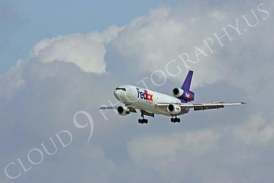 FedEx 00012 McDonnell Douglas DC-10 by Peter J Mancus