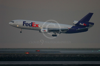 FedEX 00006 Douglas DC-10 FedEx N377FE by Peter J Mancus