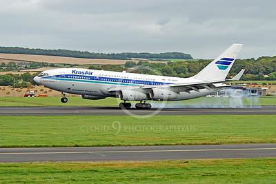 Il-96 00001 Ilyushin Il-96 Kras Air RA-96017 by Alasdair MacPhail