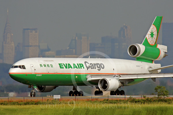 MD-11-C 00001 McDonnell Douglas MD-11 Eva Air Cargo N105EV by Peter J Mancus