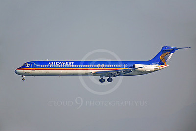 MD-88 00018 McDonnell Douglas MD-88 Midwest N809ME by Peter J Mancus