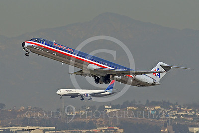 MD-88 00076 McDonnell Douglas MD-88 American Airline by Tim Wagenknecht