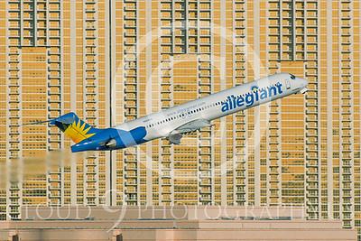 MD-88 00012 McDonnell Douglas MD-88 Allegiant N884GA by Dave Budd