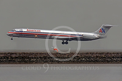 MD-88 00068 McDonnell Douglas MD-88 American N9622A by Peter J Mancus