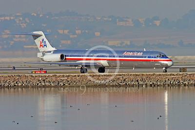 McDonnell Douglas MD-88 00001 AMERICAN by Peter J Mancus