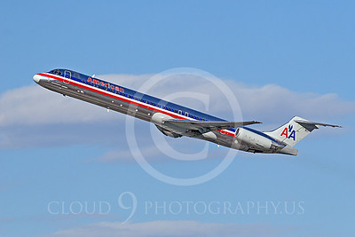 MD-88 00070 McDonnell Douglas MD-88 American Airline by Tim Wagenknecht