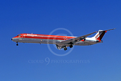 MD-88 00010 McDonnell Douglas MD-88 Avianca Columbia March 1999 by Peter J Mancus