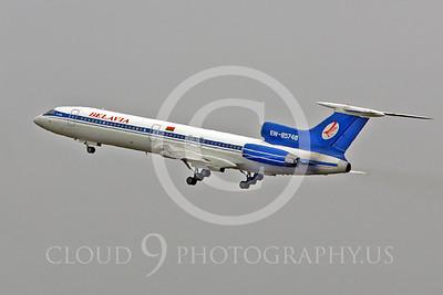 Tu-154 00100 Tupolev Tu-154 Belavia EW-85748 by Peter J Mancus