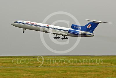 Tu-154 00034 Tupolev Tu-154 Belavia EW-85748 by Peter J Mancus