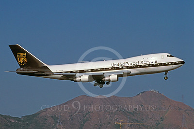 B747-C 00026 Boeing 747 United Parcel Service N682UP February 1997 via African Aviation Slide Service