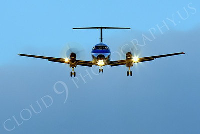 FFAL 00063 A head-on Skywest Airlines Embraer EMB-120 Brasilia on final approach to land airliner picture, by Peter J Mancus