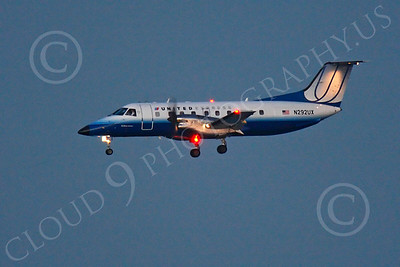 EMB-120 00032 EMBRAER EMB-120 Brasilla United Express N292UX by Peter J Mancus