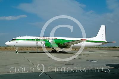 Il-18 00001 Ilyushin Il-18 Coot Phoenix #EX-601 2004 via AASS