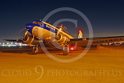 ALP-N 00105 Douglas DC-3 United Airline by Tim Wagenknecht