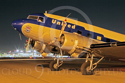 ALP-N 00116 Douglas DC-3 United Airline N814CL by Tim Wagenknecht