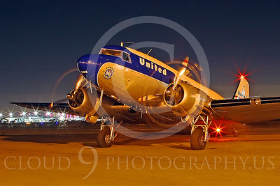 ALP-N 00115 Douglas DC-3 United Airline by Tim Wagenknecht