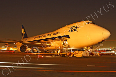 B747-C 00037 Boeing 747 Singapore Airlines Cargo by Tim P Wagenknecht