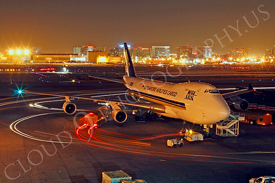 B747-C 00201 Boeing 747 Singapore Airlines Cargo by Tim P Wagenknecht