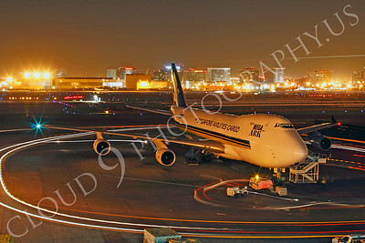 B747-C 00015 Boeing 747 Singapore Airlines Cargo by Tim P Wagenknecht