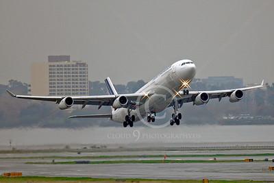 A340 00220 Airbus A340 Air France F-GNIF by Peter J Mancus