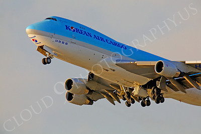CUNAL-C 00054 Boeing 747 Korean Air Cargo by Peter J Mancus