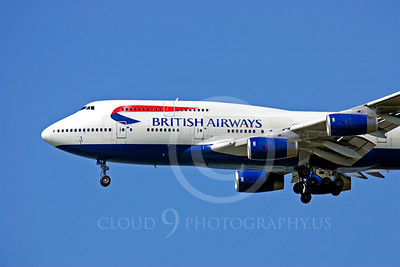 CUNALPJ 00010 Boeing 747 British Airways by Peter J Mancus