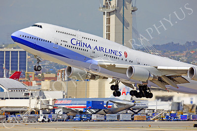 CUNALPJ 00042 Boeing 747 China Airlines B-18212 by Peter J Mancus