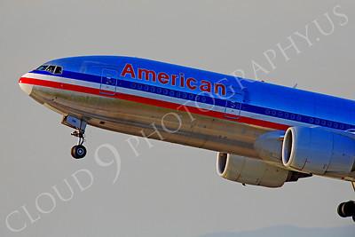 CUNALPJ 00024 Boeing 777 American Airline by Peter J Mancus