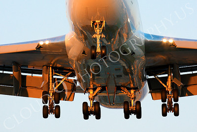 FFAL 00010 A tight crop on the undercarriage of a flying Boeing 747 airliner picture, by Peter J Mancus