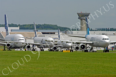 ALJM 00003 Airbus A300, A320, A340 and A380 prototypes aircraft picture by Stephen W D Wolf
