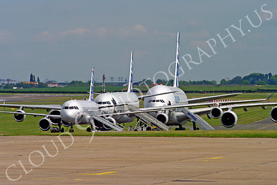 ALJM 00001 Airbus A320, A340 and A380 prototypes aircraft picture by Stephen W D Wolf