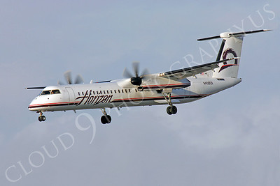 Bombardier Dash 8 Series 400 00002 Horizon Airline N408QX by Peter J Mancus