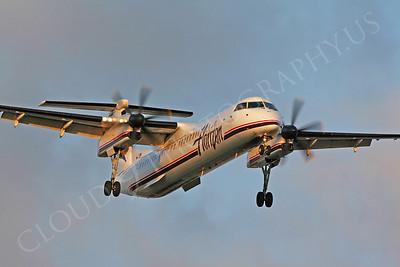 Bombardier Dash 8 00002 Horizon Airlines by Carl E Porter