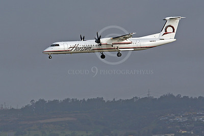 Bombardier Dash 8 Series 400 00004 Horizon Airline N424QX by Peter J Mancus