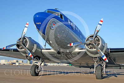 DC-3 00043 Douglas DC-3 United Airline N814CL by Tim Wagenknecht