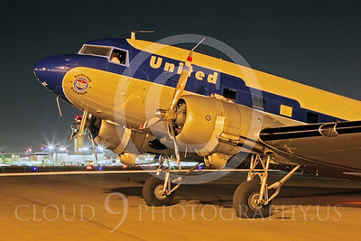 DC-3 00051 Douglas DC-3 United Airline N814CL by Tim Wagenknecht