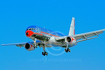 ALPR 00004 Boeing 757 American March 1999 by Peter J Mancus