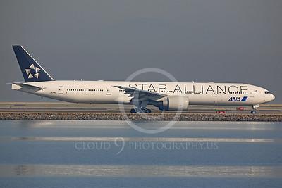 ALPJSA 00101 Boeing 777 All Nippon JA731A STAR ALLIANCE by Peter J Mancus