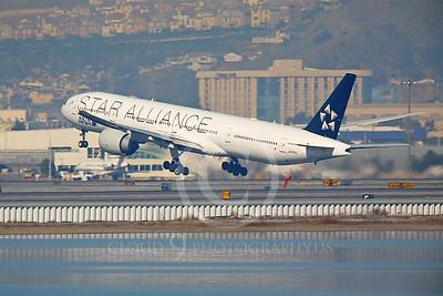 ALPJSA 00064 Boeing 777 All Nippon JA731A STAR ALLIANCE by Peter J Mancus