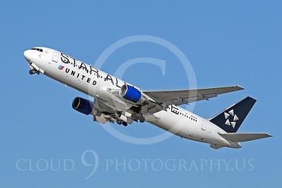 ALPSA 00038 Boeing 767 United Airline STAR ALLIANCE N653UA by Tim Wagenknecht