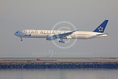 ALPJSA 00080 Boeing 777 All Nippon JA731A STAR ALLIANCE by Peter J Mancus