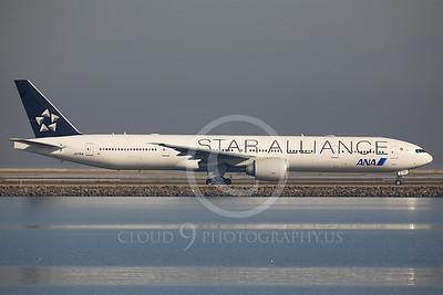 ALPJSA 00005 Boeing 777 All Nippon JA731A STAR ALLIANCE by Peter J Mancus