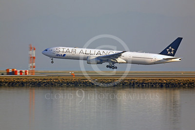 B777 00024 Boeing 777 All Nippon Airline JA731A STAR ALLIANCE by Peter J Mancus